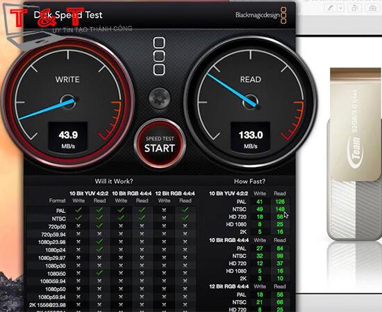 Kiểm tra tốc độ độc ghi Macbook